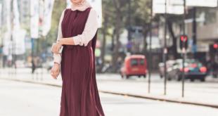 صوره ملابس محجبات 2019 , احدث صيحات في ملابس المحجبات