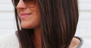 صوره قصات شعر متوسط , استايلات جميلة للشعر المتوسط