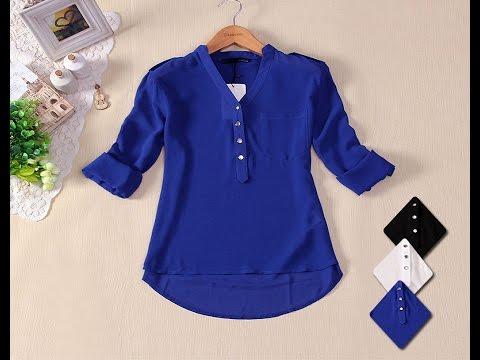 بالصور بلوزات للمحجبات , مجموعه مميزة لملابس المحتشمات 6054
