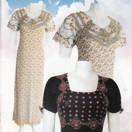 بالصور قنادر الدار 2019 موديلات جديدة , تصاميم لملابس بنات الجزائر 6198 8