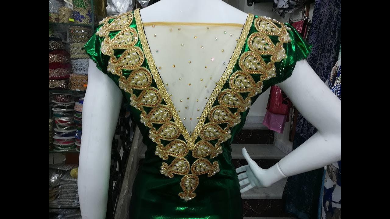 بالصور قنادر الدار 2019 موديلات جديدة , تصاميم لملابس بنات الجزائر 6198 9