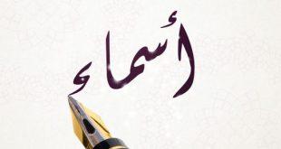 صوره معنى اسم اسماء , لكل لقب معاني حلوة