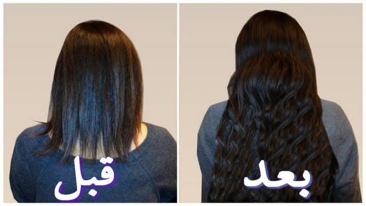 صور خلطات تطويل الشعر , وصفات طبيعية لاطالة الشعر