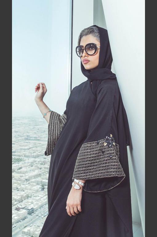 بالصور عبايات سعودية , اشيك و اجمل عبايات خليجية 91 4