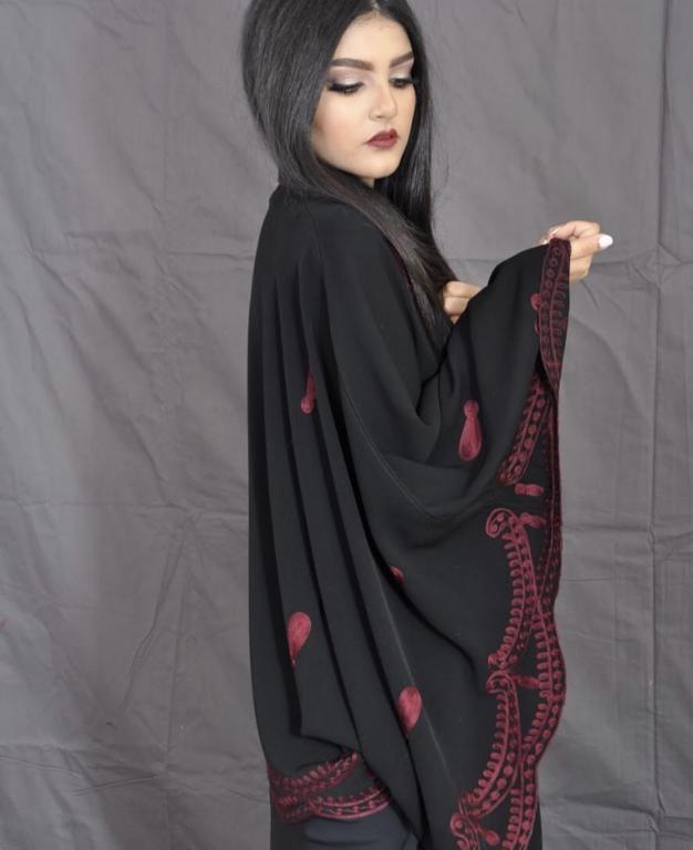 بالصور عبايات سعودية , اشيك و اجمل عبايات خليجية 91 8