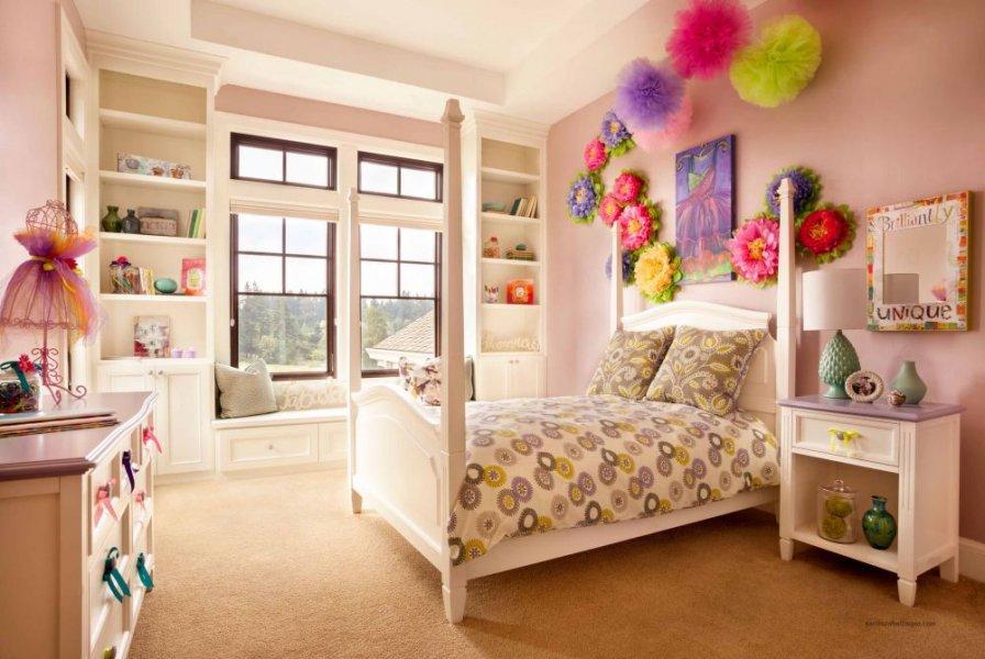 بالصور صور غرف نوم بنات , احدث غرف نوم البنات واروعها 1151 6