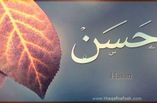 صور معنى اسم حسن , معانى مميزه لاسم حسن