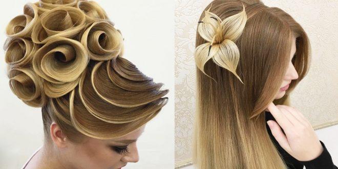 صورة اجمل شعر في العالم , اروع الاطلالات لتسريحات وقصات الشعر