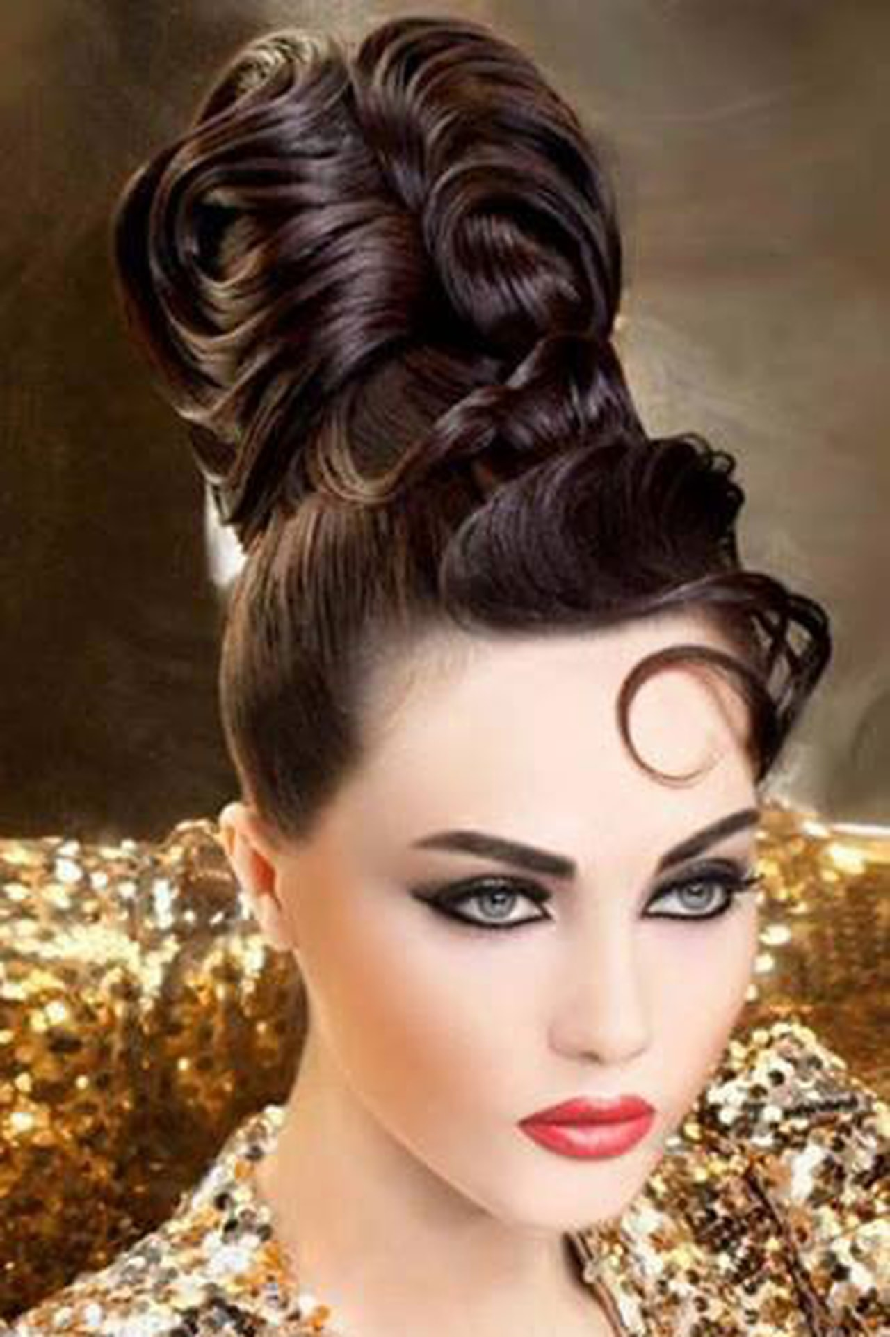 بالصور اجمل شعر في العالم , اروع الاطلالات لتسريحات وقصات الشعر 840 7