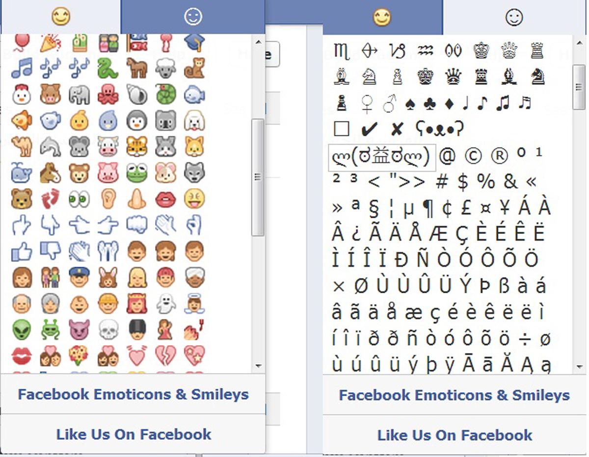 بالصور رموز الفيس , اكثر الرموز استخداما والمشهورة عبر الفيس بوك 114 2