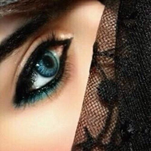 بالصور احلى عيون , ذات العيون الواسعة قلبي لكي يذوب شوقا