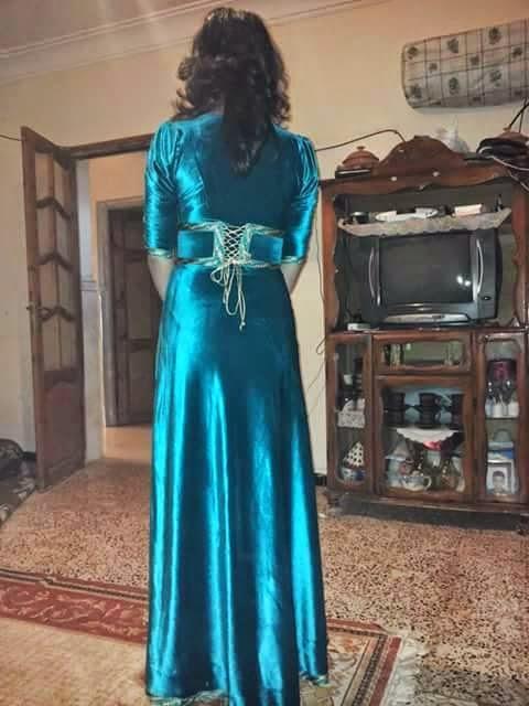 بالصور قنادر قطيفة للاعراس , اشيك قنادر للعروسة قطيفة رائعة وحالمة 2064 7