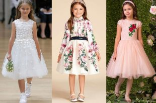 صوره موديلات فساتين بنات , اروع ملابس للفتيات الصغار
