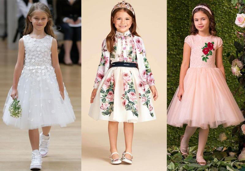 بالصور موديلات فساتين بنات , اروع ملابس للفتيات الصغار 3593
