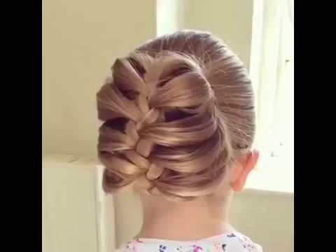 بالصور بالصور تسريحات شعر للاطفال , اروع فورمات لشعر البنات الصغار 3608 5