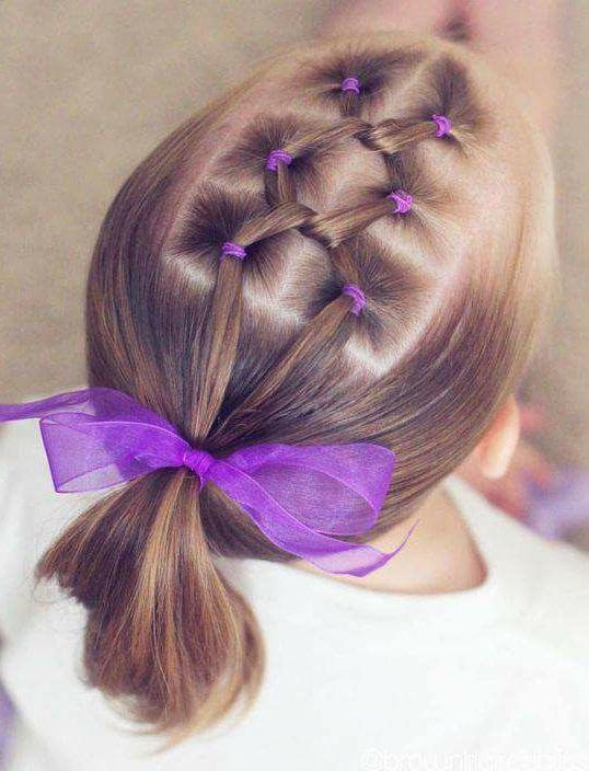 بالصور بالصور تسريحات شعر للاطفال , اروع فورمات لشعر البنات الصغار 3608 7