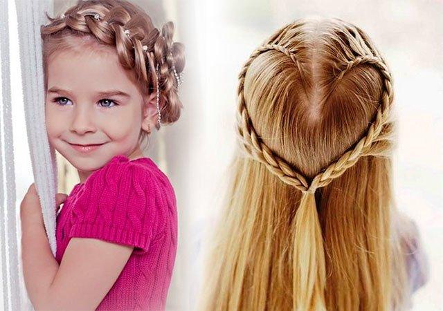 بالصور بالصور تسريحات شعر للاطفال , اروع فورمات لشعر البنات الصغار 3608 9