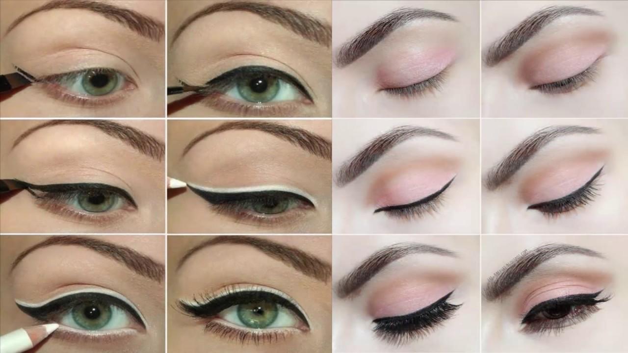 صور مكياج عيون بالخطوات , خطوة خطوة تعلمي كيفية وضع مكياج العيون كما في الصالونات