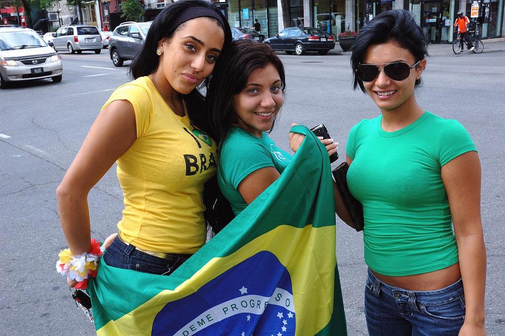 Brazil teen double