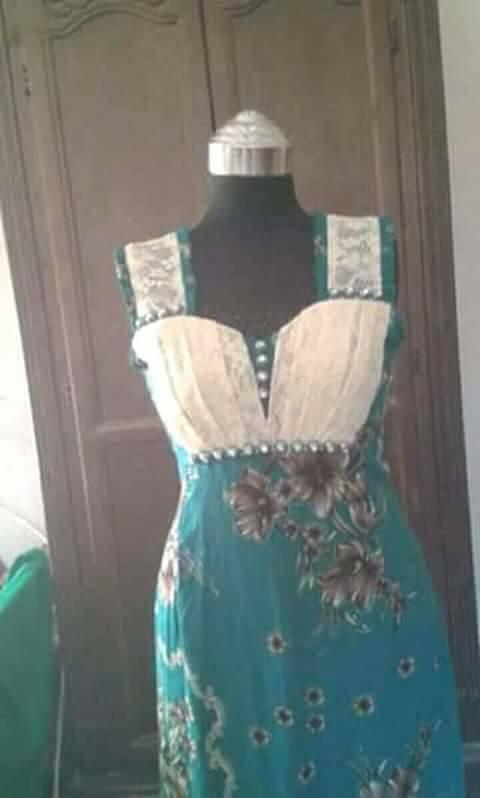 بالصور قنادر صيف , ملابس بيت جزائرية 1092 2
