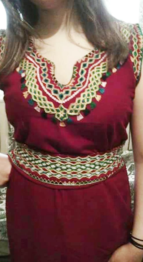 بالصور قنادر صيف , ملابس بيت جزائرية 1092