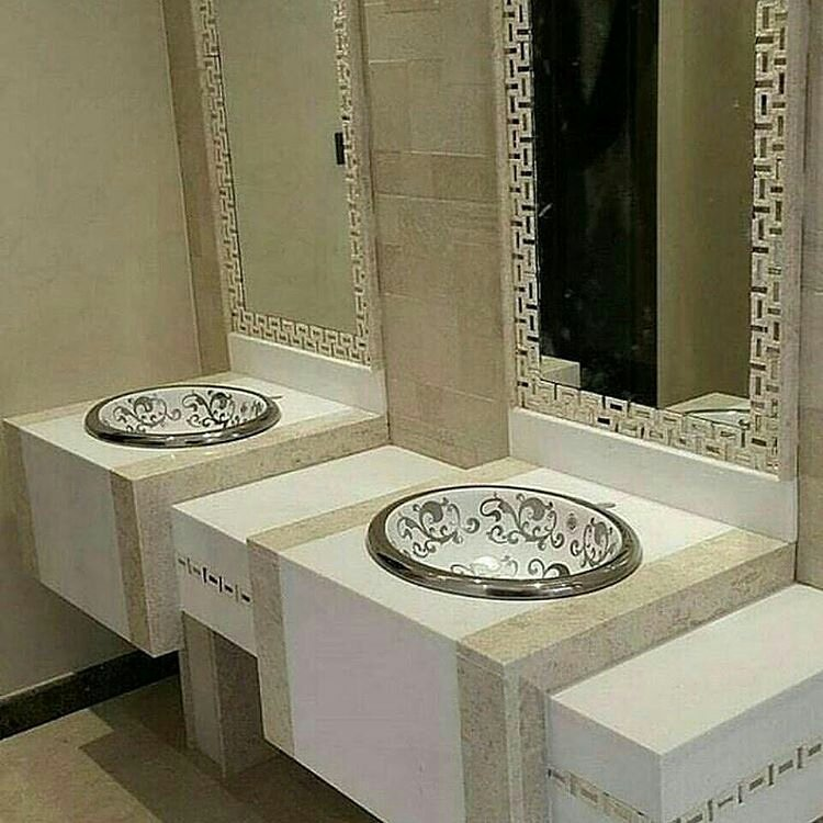 بالصور اشكال مغاسل رخام طبيعي , تصاميم لاحواض الحمامات 1103 3