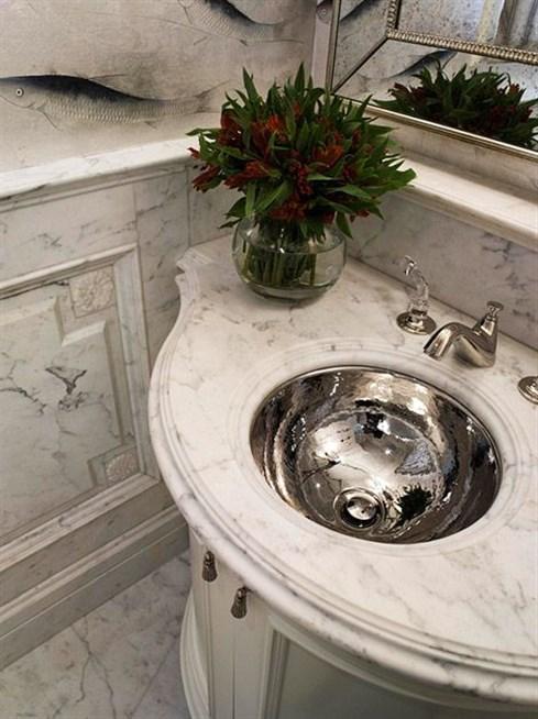 بالصور اشكال مغاسل رخام طبيعي , تصاميم لاحواض الحمامات 1103 5