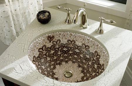 بالصور اشكال مغاسل رخام طبيعي , تصاميم لاحواض الحمامات 1103 7