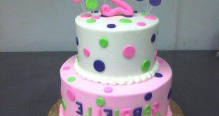 صور تورتات اطفال بنات , لاحلي عيد ميلاد لبنوتك تصاميم كعكات حلوة