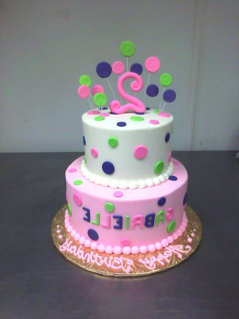 صورة تورتات اطفال بنات , لاحلي عيد ميلاد لبنوتك تصاميم كعكات حلوة