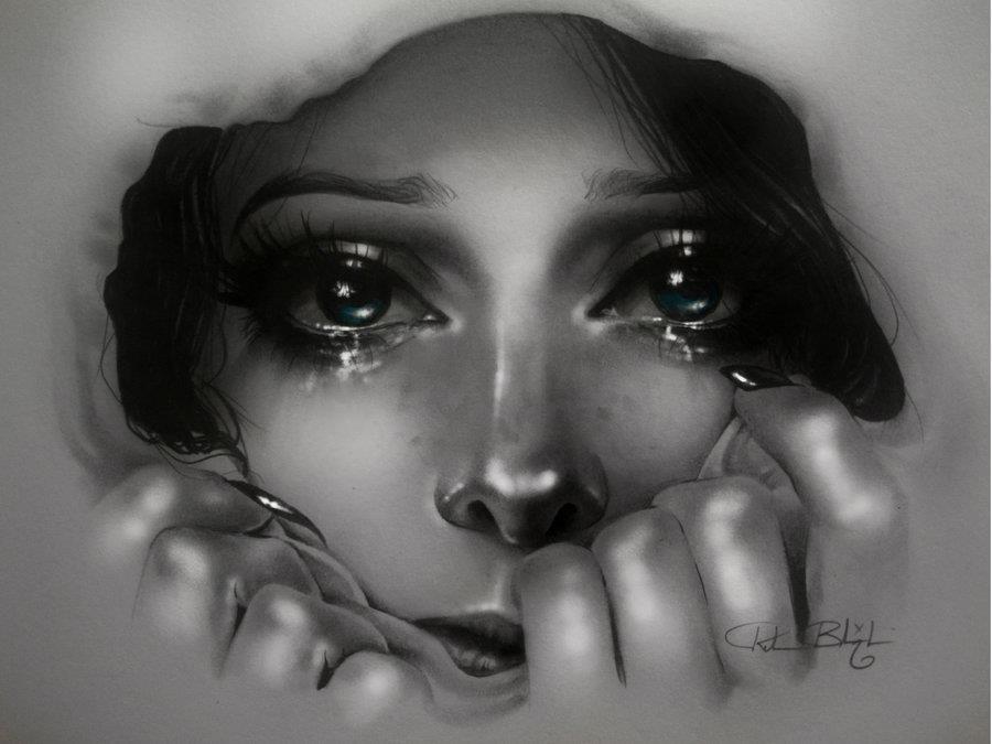صور صور دموع حزينه , صور تعبر عن الحزن