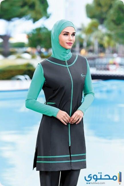 بالصور مايوه اسلامي , باقة من اجمل المايوهات لصيف جميل لكل مسلمة 3424 5