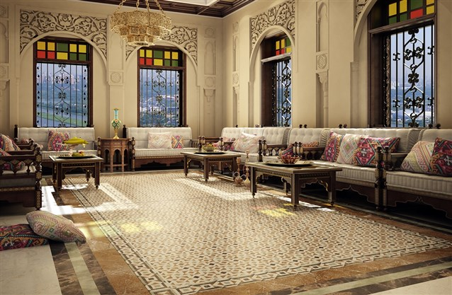 بالصور جلسات عربية , مجالس فخمة عربية مريحة وشيك 3477 8