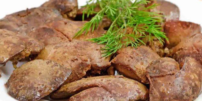 صور طريقة طبخ كبدة الدجاج , كيفيه طهى كبدة الدجاج