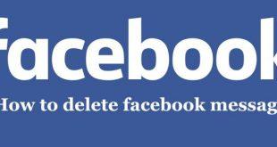 بالصور كيفية مسح الرسائل من الفيس بوك , حذف رسائل الفيس بوك 12118 2 310x165