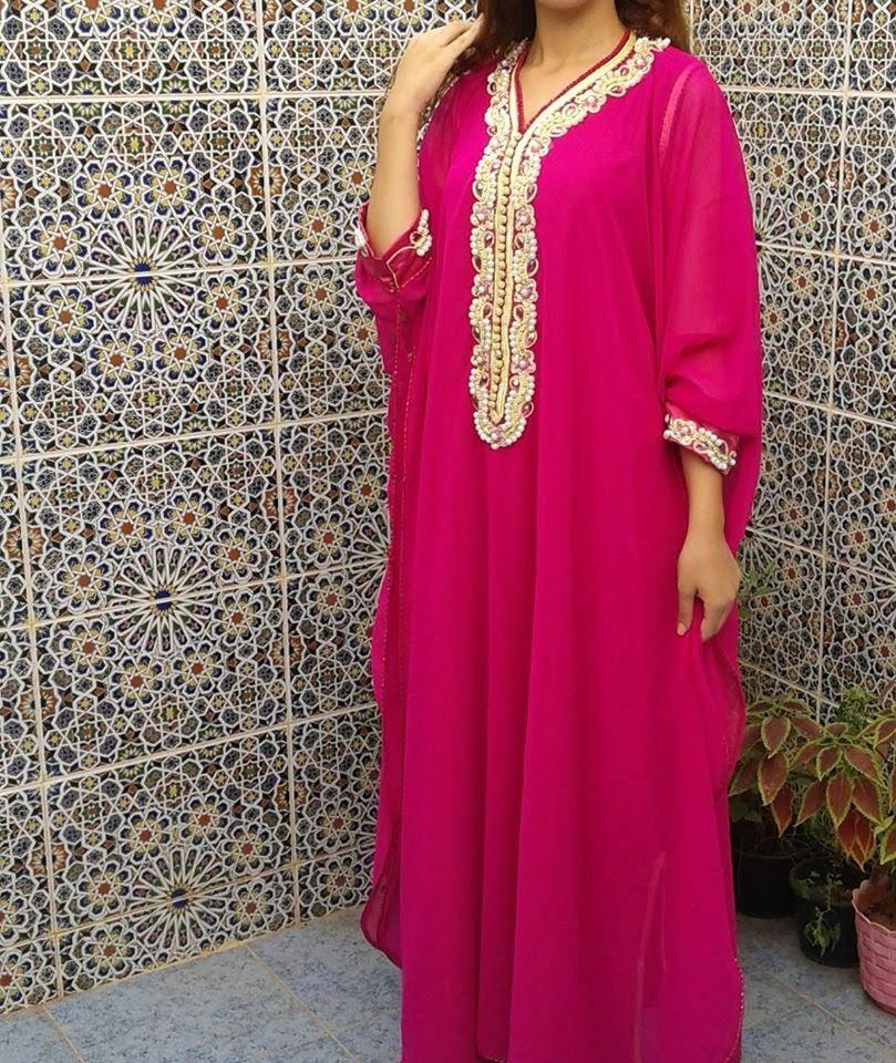 بالصور عباية مغربية , لباس مغربى انيق 1294 5