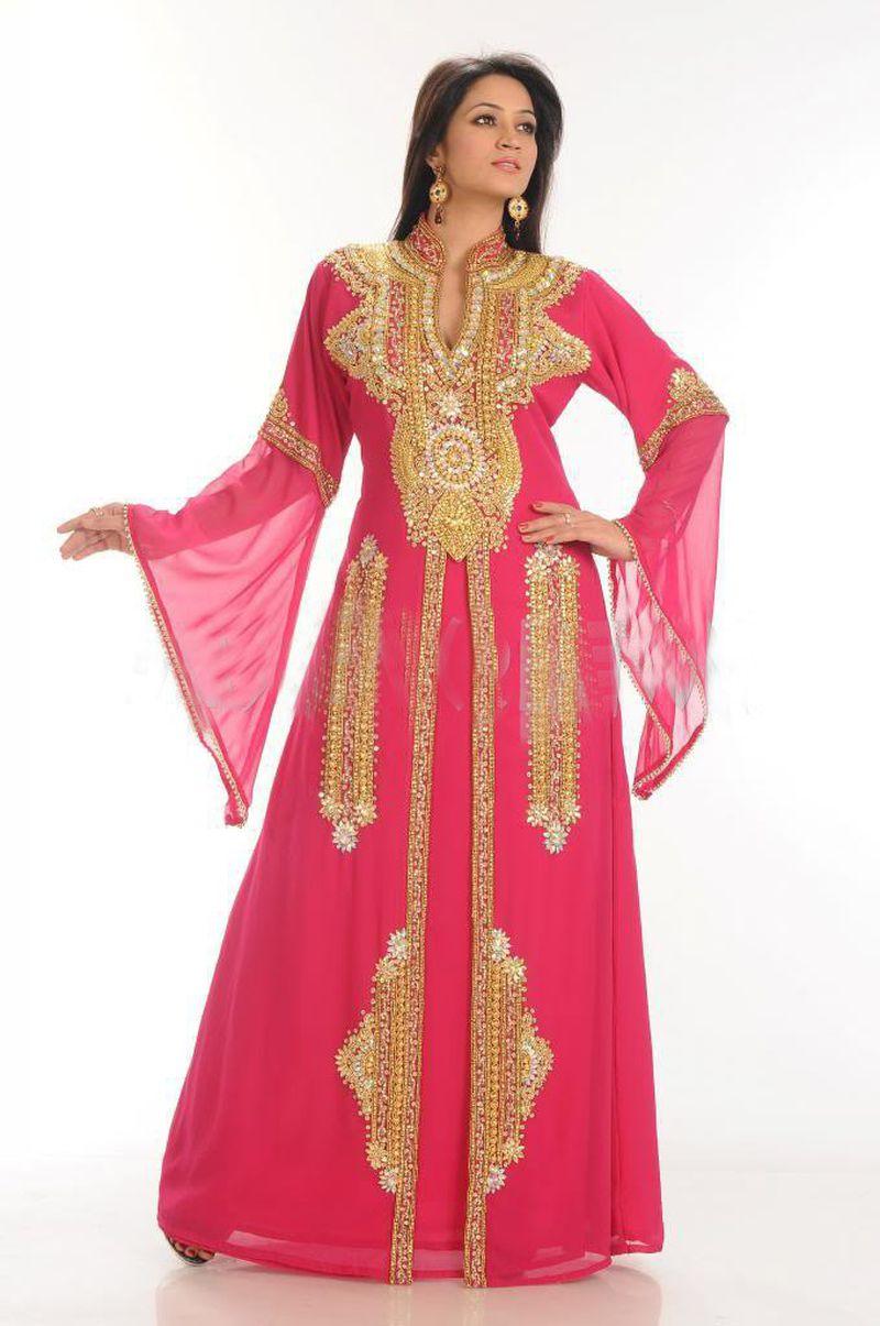 بالصور عباية مغربية , لباس مغربى انيق 1294 8