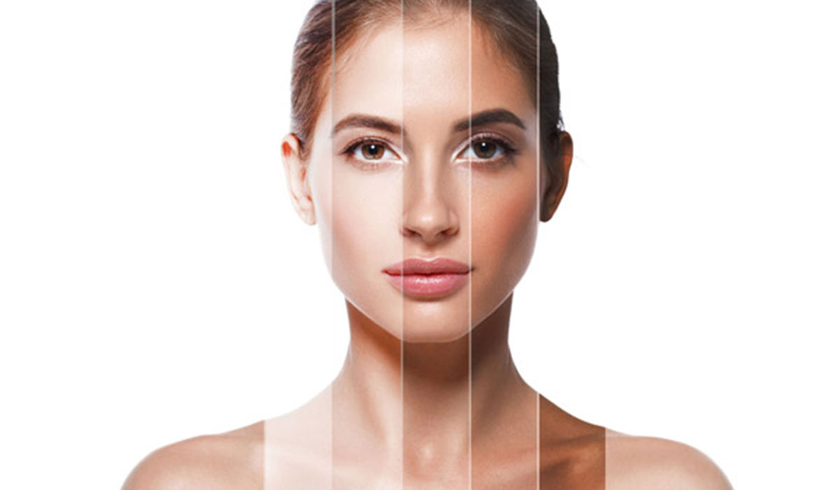 صورة توحيد لون البشرة , كيفية ازاله البقع الداكنة من البشرة