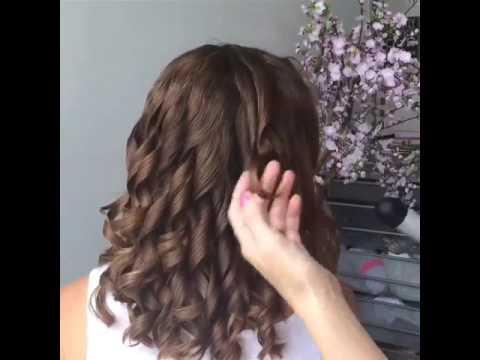 بالصور لف الشعر بالفير , كيفية تصفيف الشعر باستخدام الفير 12749 6