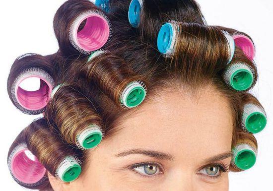 بالصور لف الشعر بالفير , كيفية تصفيف الشعر باستخدام الفير 12749 9
