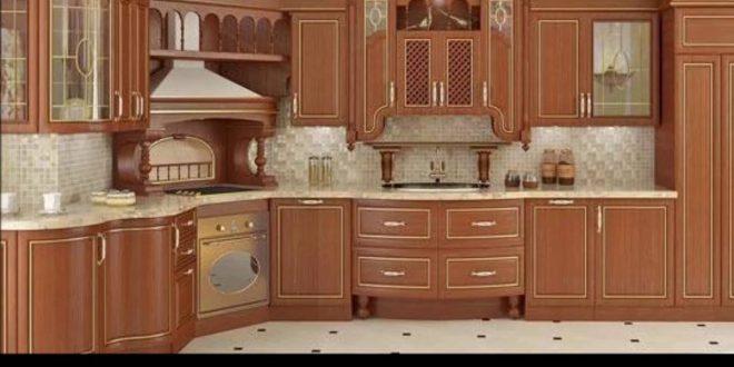صور احدث المطابخ الخشب , التصميمات المختلفة للخشب فى المطابخ العصرية