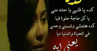 بالصور كده ياقلبي كلمات , كلمات اغنيه كده ياقلبي لشيرين عبد الوهاب 3533 1 310x165