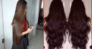 صور خلطات لتطويل الشعر , وصفات لزياده طول الشعر للمراه