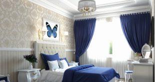 صور ستائر غرف نوم , موديلات وتصميمات ستائر لاوض النوم