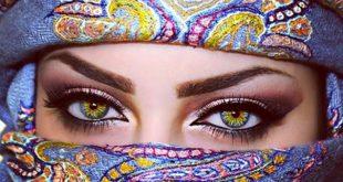 صورة اجمل عيون النساء , خلفيات لعيون حريم ساحره