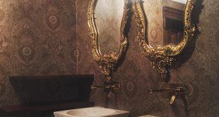 صورة مغاسل فخمه للمجالس , تصاميم ديكورات احواض راقيه