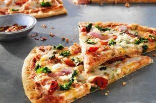 صورة كيفية صنع البيتزا , اسهل طريقه اعداد البيتزا