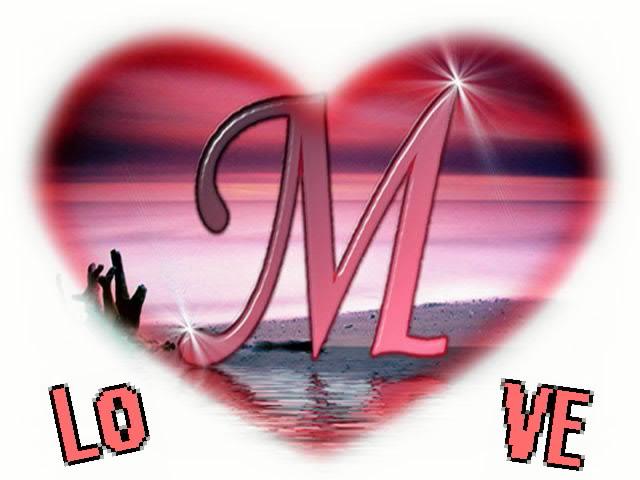 صور حرف M تصميمات حرف M قصة شوق