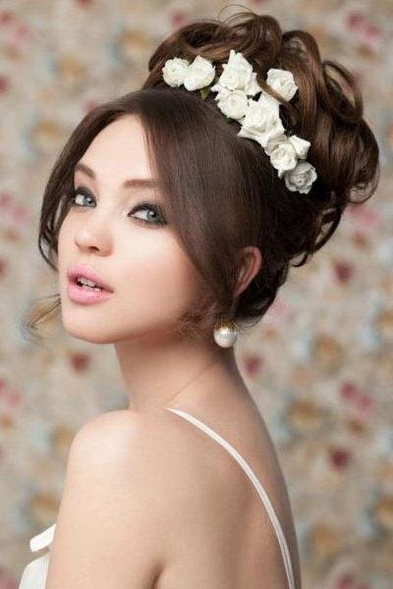 صورة اجمل تسريحة شعر في العالم. تسريحات جميله ومختلفه لشعر البنات