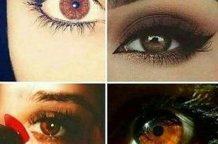 صور اجمل العيون العسلية , سحر وجاذبيه العيون العسليه